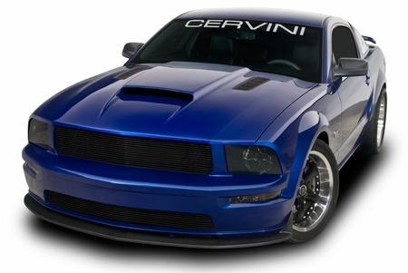 Cervini\'s Stalker II Hood, 2005-09 Mustang