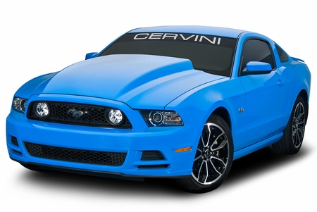 Cervini\'s 2013-14 Mustang 4 Cowl Hood