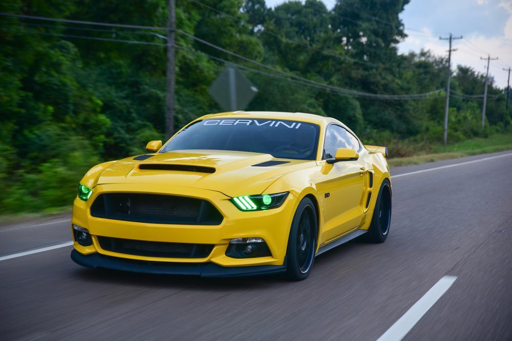 Cervinis Stalker Hood, 2015-17 Mustang