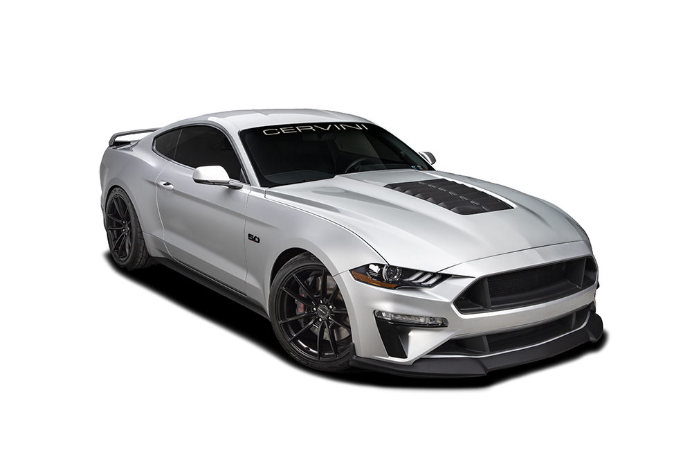 Cervinis GT500 Style Hood, 2018+ Mustang