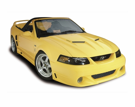 Cervini\'s Ram Air Hood, 1999-04 Mustang