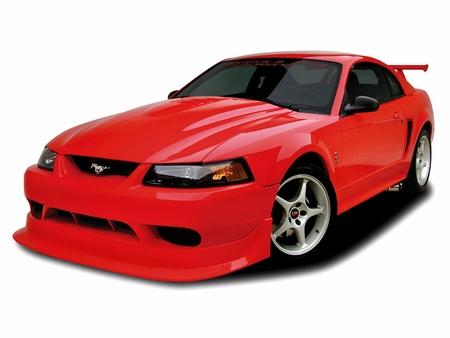 Cervini\'s 2000 Cobra R Hood, 1999-04 Mustang