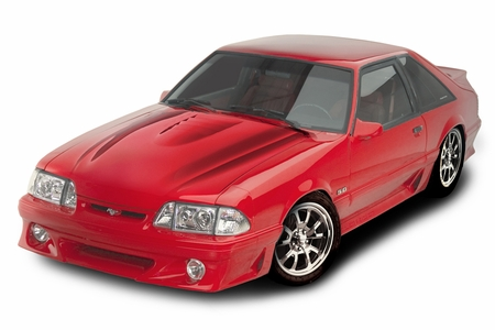 Cervini\'s 2000 Cobra R hood, 1987-93 Mustang