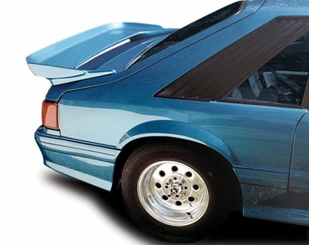 Cervini\'s SLN Rear Wing, 1979-93 Mustang Hatchback (Small Crack)