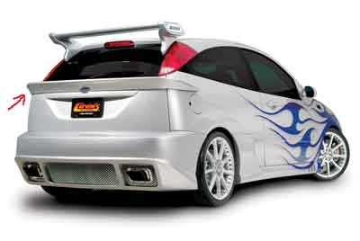Cervini\'s Wrap around rear wing, 00-04 Focus