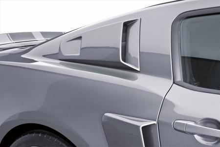 Cervini\'s Side Window Scoops, 2010-14 Mustang