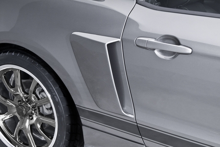 Cervini\'s Lower Side Scoops, C-Series, 2010-14 Mustang