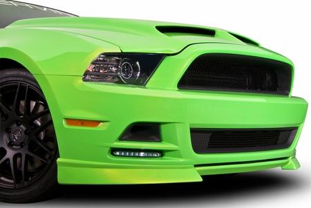 Cervini\'s 2013-14 Mustang C-Series Chin Spoiler