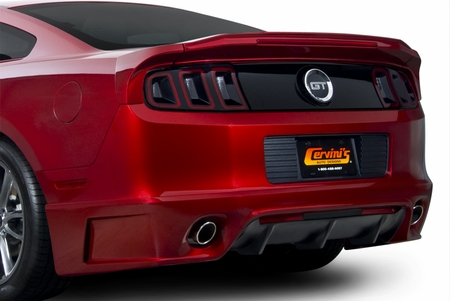 Cervinis Stalker Rear Bump, 2013-14 Mustang