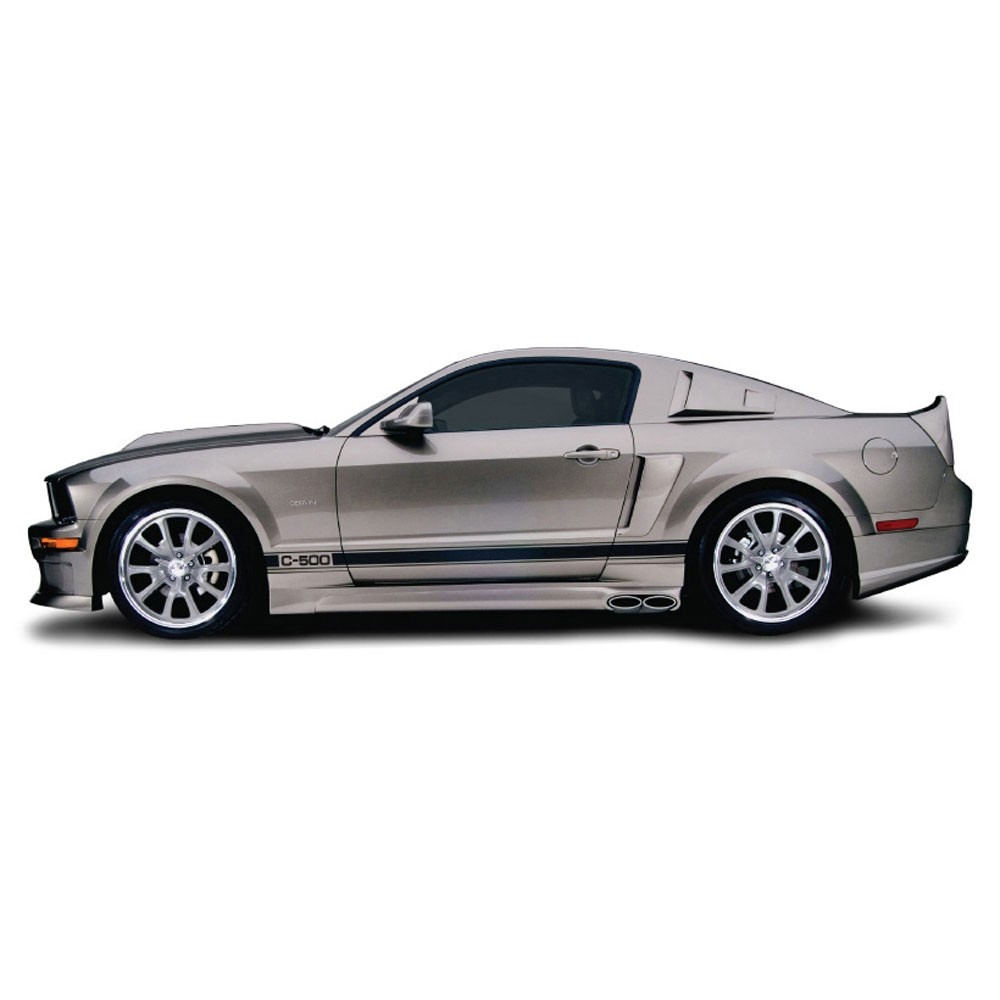 Cervini\'s Eleanor Side Exhaust, 05 Mustang GT Coupe , incl/ rear valence