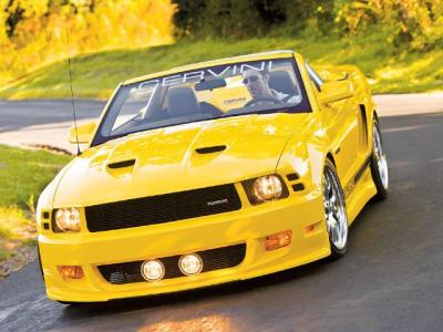 Cervini\'s Stalker body kit, 2005-09 Mustang