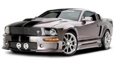 Cervini\'s Eleanor Body kit, 2005-09 Mustang Convertible