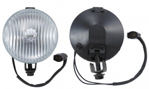 1987-93 Mustang Fog Lamp Body W/Plug and Bkt (Each)