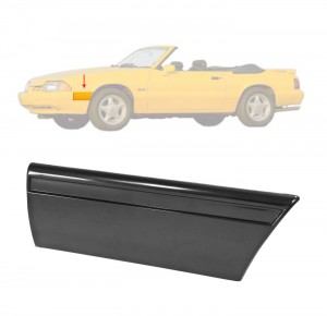1987-90 Mustang LX Front Of Fender Body Mouldings LH