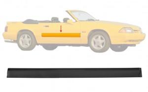 1987-93 Mustang LX RH Door Body Molding