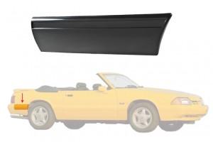1987-93 Mustang LX Rear Of Quarter Molding - RH