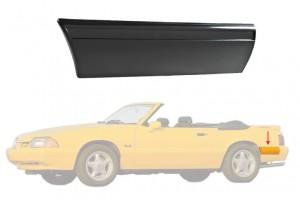 1987-93 Mustang LX Rear Of Quarter Molding - LH