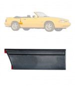1987-93 LX Front Of Quarter Body Moulding - RH