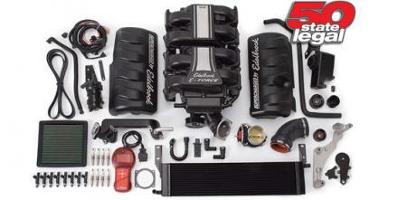 Edelbrock E-Force supercharger kit, 05-09 Mustang GT, complete