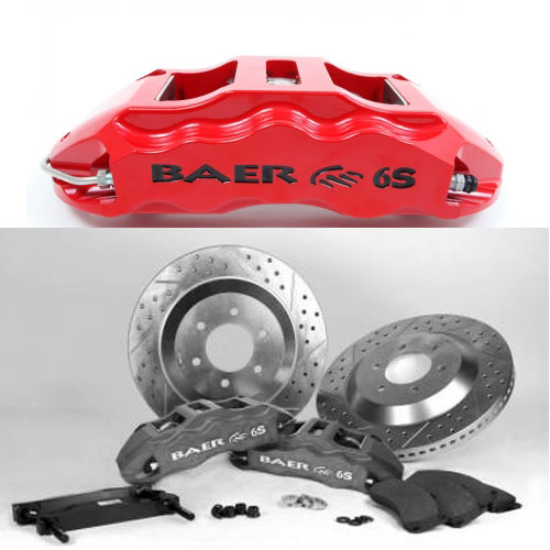 Baer Extreme 14 Front, 2009-2013 Ford Truck F150, 2wd /4wd and Raptor