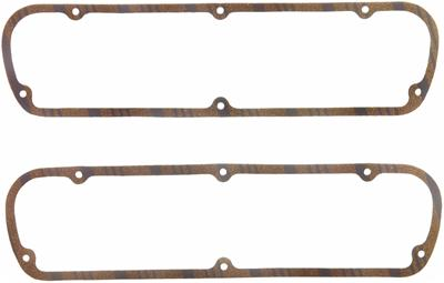 Fel-Pro Valve Cover Gaskets, 5.0/302/351, Cork/Steel