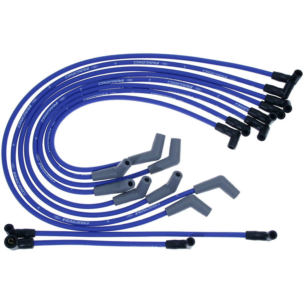 Ford Performance 9mm Ignition Wires 5.0/5.8, Blue on