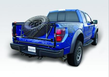 Ford Racing Inboard Tiregate Wheel and Tire Carrier, 2010+ Raptor