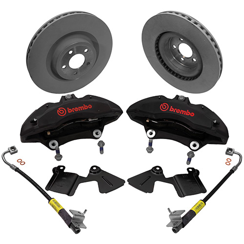 Ford Performance 2015+ Mustang Performance Pack 6-Piston Front Brake Kit