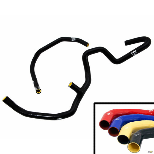 Mountune Performance Ancillary Coolant Hose Kit, 2013-14 Focsu ST, Yellow
