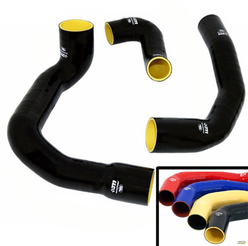 Mountune Performance Silicone Boost Hose Kit 2013-14 Focus ST, Yellow