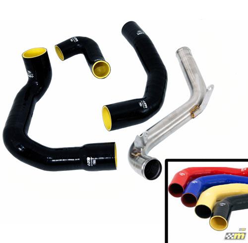 Mountune Intercooler Charge Pipe Upgrade Kit, 2013-14 Focus ST, Yellow