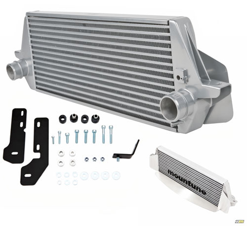 Ford Focus ST Intercooler Upgrade Silver