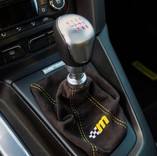 mountune Alcantara Shift Boot, 2013-2014 Focus ST