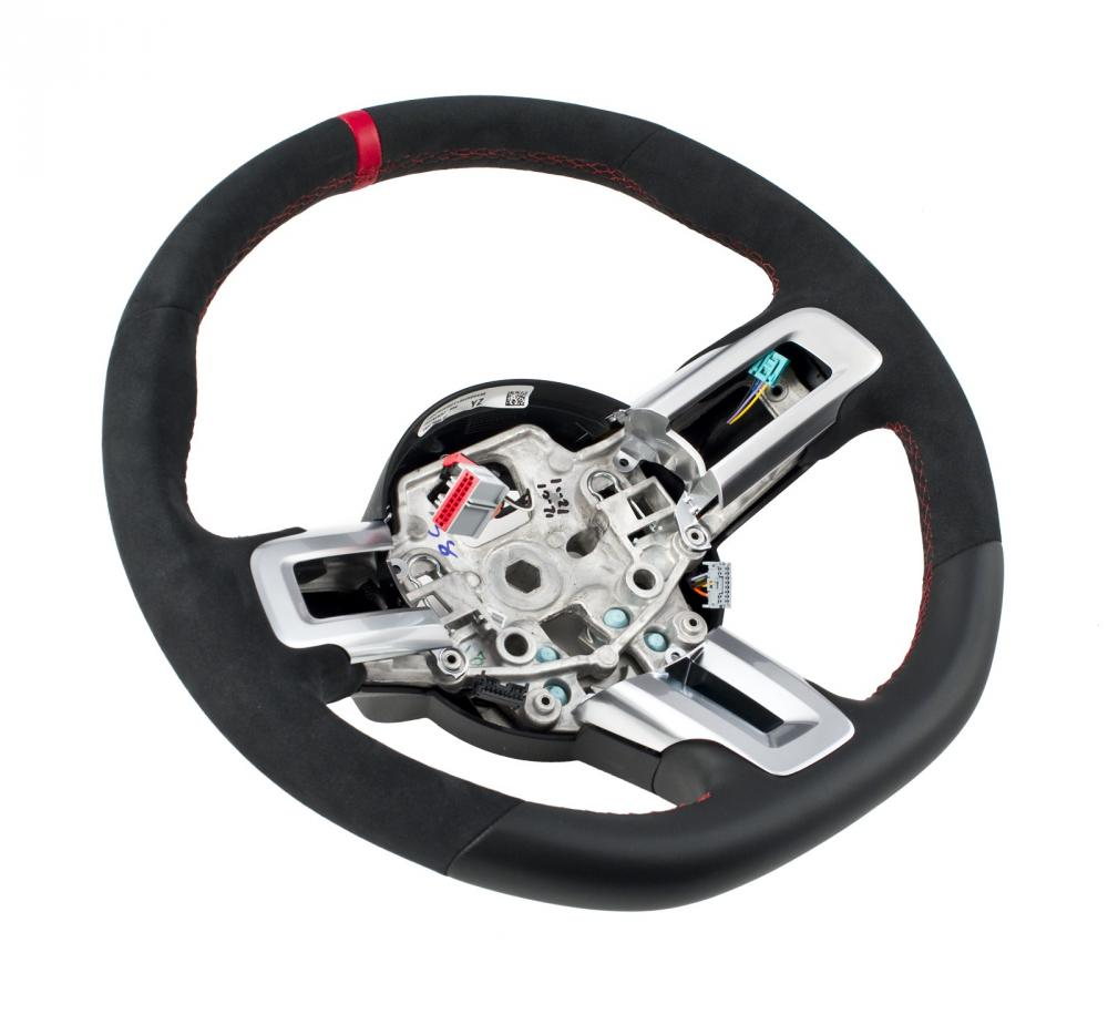 Ford Performance Mustang GT350R Steering Wheel Kit, 2015-16 Mustang
