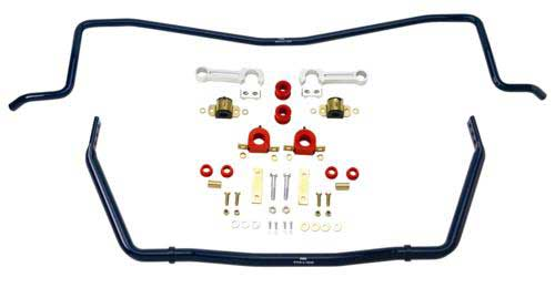 Ford Racing Sway bar kit, front and rear, 2007+ GT500