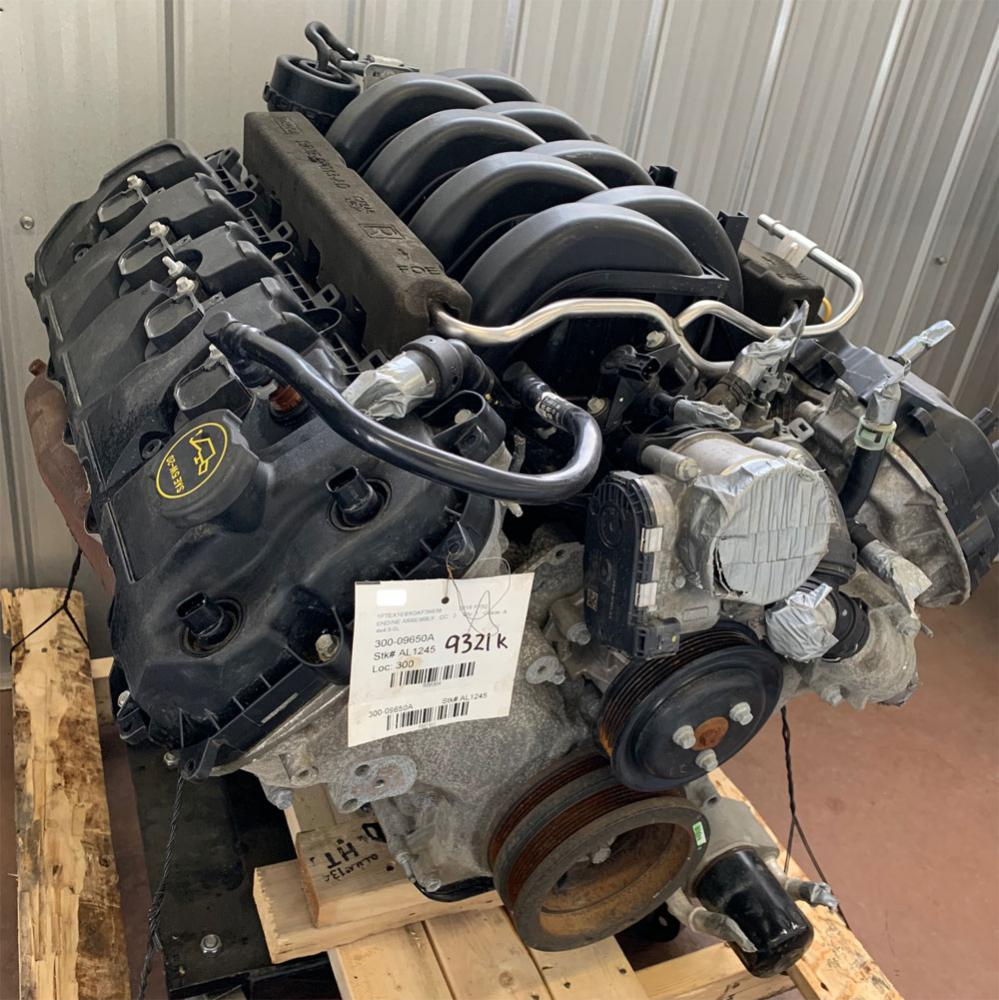 2015-2017 F150 Coyote 5.0 Engine - used, under 30,000 kms