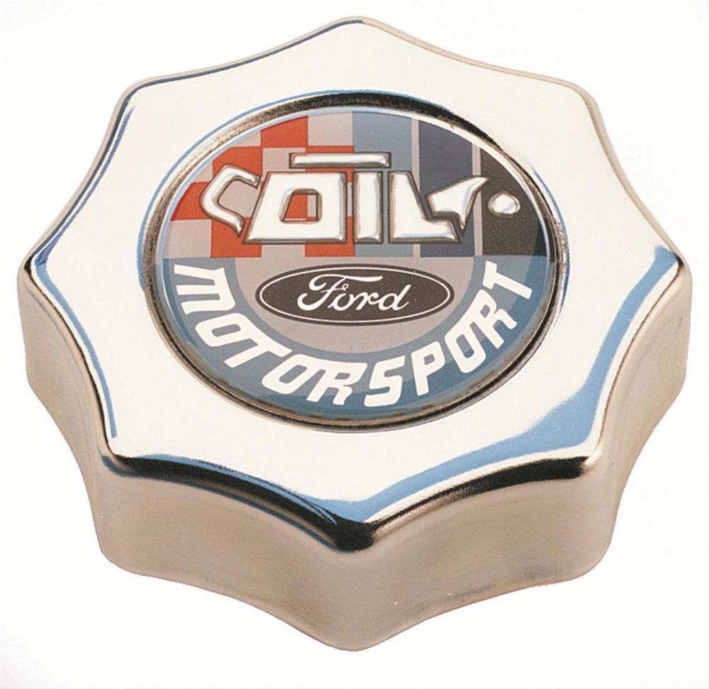 Motorsport Chrome Oil Cap 5.0