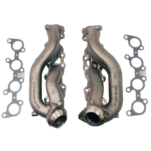 Ford Performance 2015 5.0L Coyote Street Rod Cast Iron Exhaust Manifolds