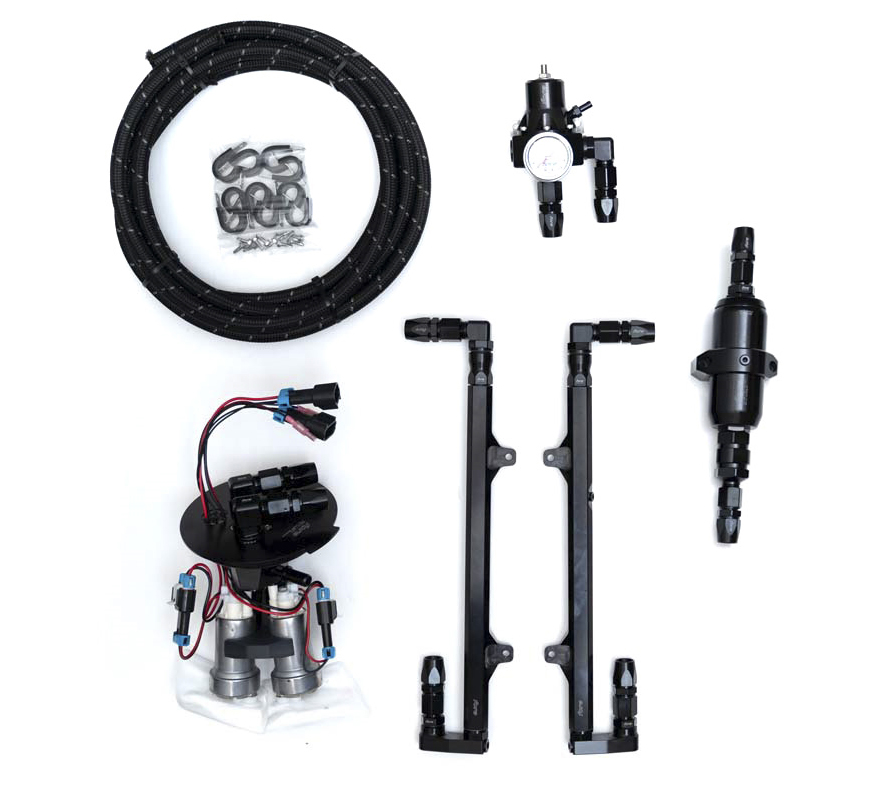 Fore L2 Fuel System (dual pump), 2011-2017 Mustang GT