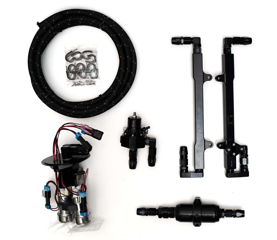 Fore L2 Fuel System (dual pump), 2005-2010 Mustang GT