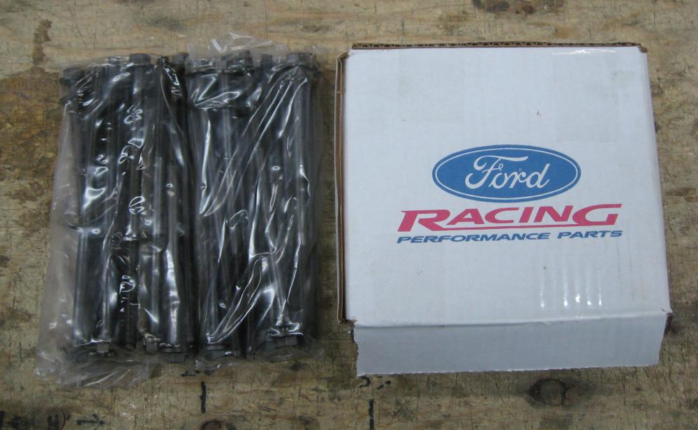 Ford Racing 4.6 3V Head Bolts, New, 2005-09 Mustang GT
