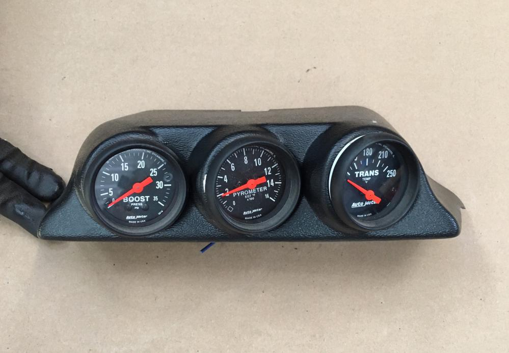 Autometer Sport Comp Gauges and Mount for 1997-03 Ford Superduty