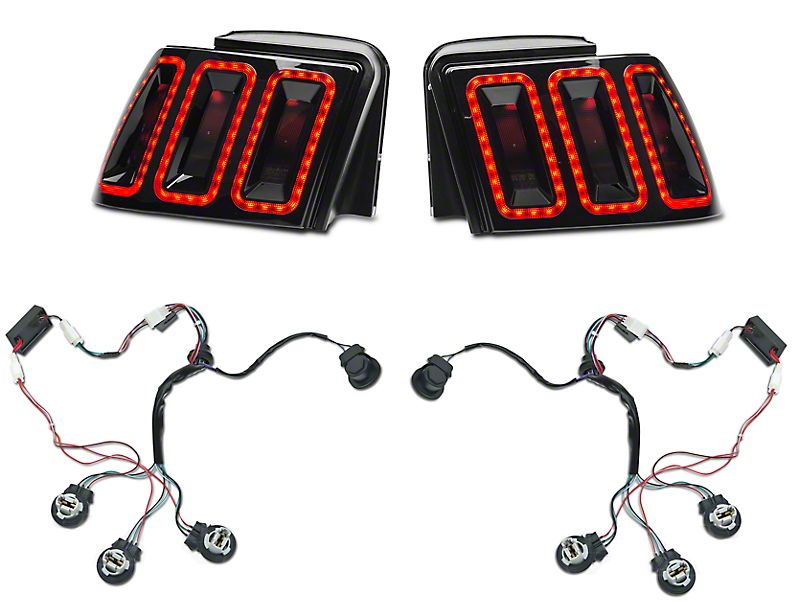 Raxiom Icon LED Tail Lights w/ Sequential Tail Light Kit (1 Only)