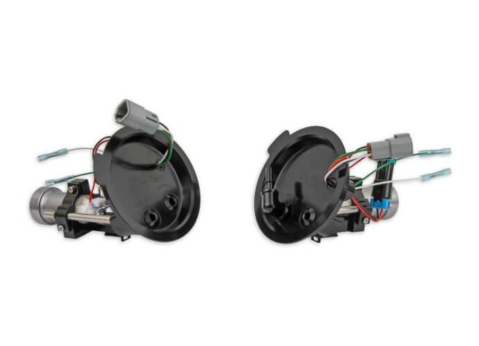 Holley Twin fuel pump modules, 525lph, 2011-17 Mustang GT