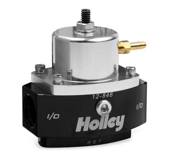 Holley Fuel pressure regulator, EFI, -8 Feed, -6 return