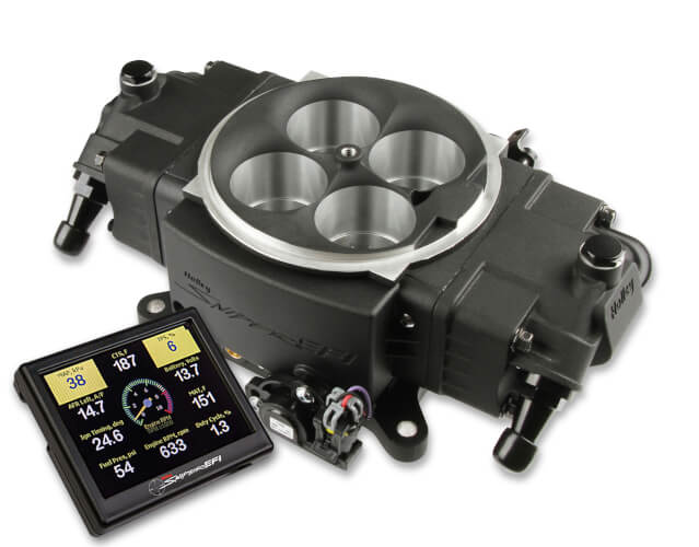 Holley Sniper Stealth 4500 EFI for boost / nitrous, self tuning, 1500hp