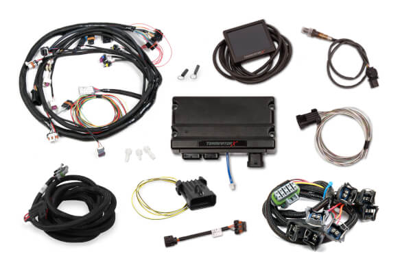 Holley Terminator X EFI system, universal Ford with 4R70W Transmission control