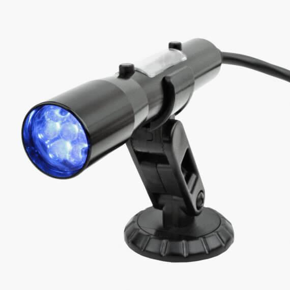 Holley Sniper Shift light, OBD plug in, Black w/blue LEDs