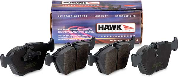 Hawk Performance Pads, ceramic, 2005-14 Mustang GT rear