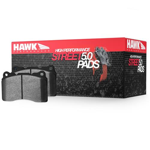 Hawk Performance HPS 5.0 pads, 2015+ Mustang Brembo front